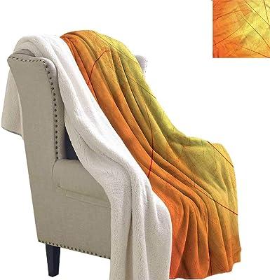 Amazon.com: Acelik - Manta para bebé, color naranja ...