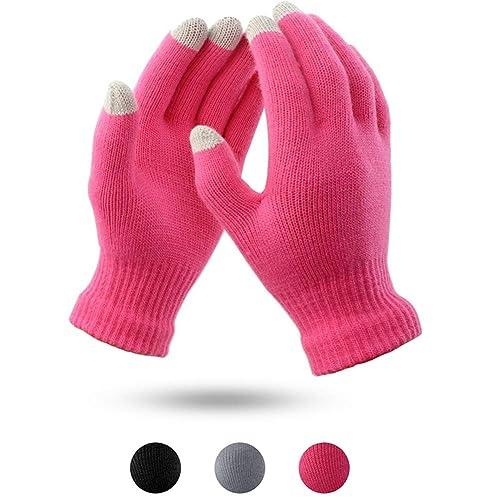 2a7273631 Touch Screen Gloves Knit Women - Digitek Touchscreen Gloves Ladies Mittens  Winter Multifunctional Warm Gloves Girl