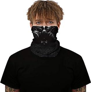 JSJCHENG Unisex Balaclavas Face Sun Mask Seamless Neck Gaiter Shield Scarf Bandana