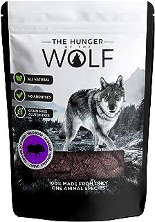 The Hunger of The Wolf - Snack de carne de jabalí para perros, 200g