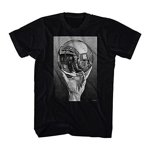 a4b7678c7 MC Escher Sphere Art Print Men's T-Shirt