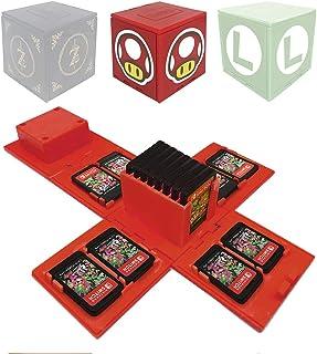 VANDA Etui compatibel voor Nintendo Switch - geschikt voor maximaal 16 Nintendo Switch games opslagsysteem speelkaarten or...