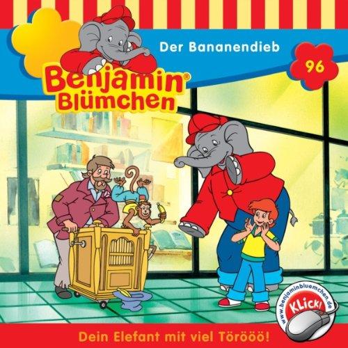 Der Bananendieb (Benjamin Blümchen 96) Titelbild
