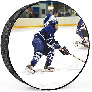 ChalkTalkSPORTS Personalized Hockey Puck | Custom Hockey Photo