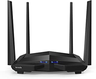 Tenda AC10U Smart Gigabit Wi-Fi Router AC1200 Dual Band w/Parental Control + MU-MIMO + Smart WiFi App Management + USB Port