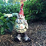 1970's Hippie Dude Jerry G Gnome Home and Garden Statue Figurine