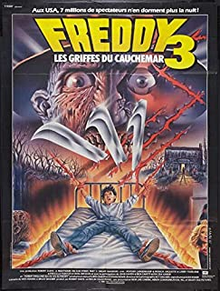 A Nightmare on Elm Street 3: Dream Warriors (French ) POSTER (27