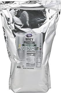 NOW Sports Nutrition, Whey Protein, 26 G With BCAAs, Creamy Vanilla Powder, 10-Pound