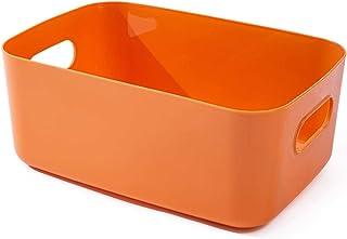 Cratone Paniers de Rangement Rectangulaires en Plastique Tiroirs Organisateur de Maquillage Boîte de Rangement de Bureau J...