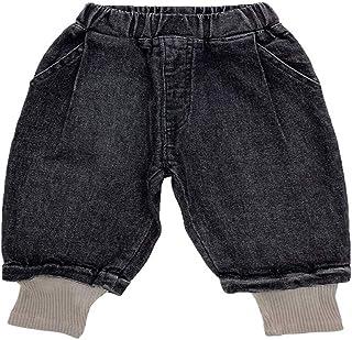 HOSD Boys Jeans 2019 Otoño Nuevo Baby Fake Pantalones de Punto de Dos Piezas Pantalones de Elasticidad para niños