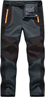 Rdruko Men's Outdoor Lightweight Waterproof Hiking Climbing Tactical Cargo Pants with Belt