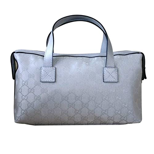 7aa05af91ab Gucci Boston Bowling Bag Canvas Handbag 264210