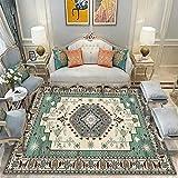 N\W Alfombra tradicional vintage para dormitorio, sala de estar, habitación infantil, decoración del hogar, alfombras grandes