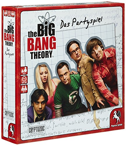 Pegasus 52210 G – The Big Bang Theory Party Jeu
