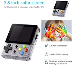 VITHCONL LDK Retro Handheld Console, (Ship from USA) Handheld Game Console Kids Adults, LDK Game Screen by 2.8 Thumbs Mini Palm