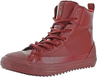 Converse Boys Chuck Taylor All Star Asphalt Boot Hi Embossed Skateboarding Shoes