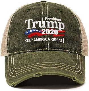 dfdba2594e7 ChoKoLids Trump 2020 Keep America Great Campaign Embroidered USA Hat