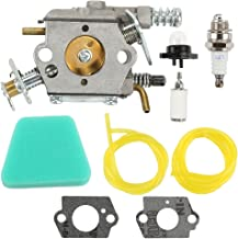 Butom 545081885 Carburetor with Air Filter Tune Up Kit for Craftsman 358351143 944414430 358351142 358350563 358360131 358360280 35831440 358350060 358351061 Chainsaw