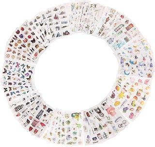 60 Feuilles Autocollants Scrapbooking,Autocollant D'album Photo de Bricolage, Autocollants Décoratifs Auto-Adhésifs pour S...