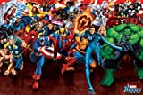 Marvel Heroes 'Angriff' Maxi Poster,61 x 91.5 cm
