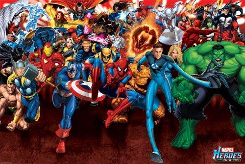 Marvel Comics PP31736 Drucken, Mehrfarbig, 61 x 91.5cm