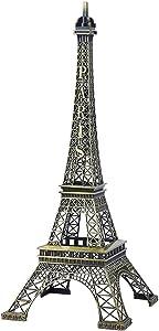 Eiffel de Bronce Decoraciones Torre de la Oficina de Recuerdo Metal clásico París y Obras de Arte en casa