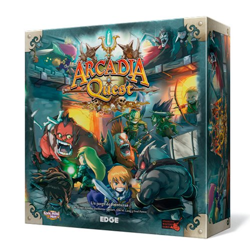 Arcadia Quest Arcadia Quest Brettspiel (Edge Entertainment AQ01)
