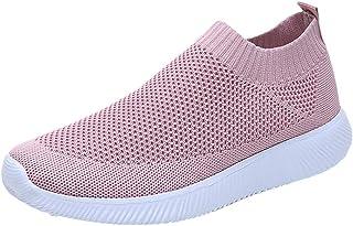 Zapatillas de Deportivos de Running para Mujer Casual en Suelas Cómodas Slip on Zapatos Deportivos para Correr al Aire Lib...