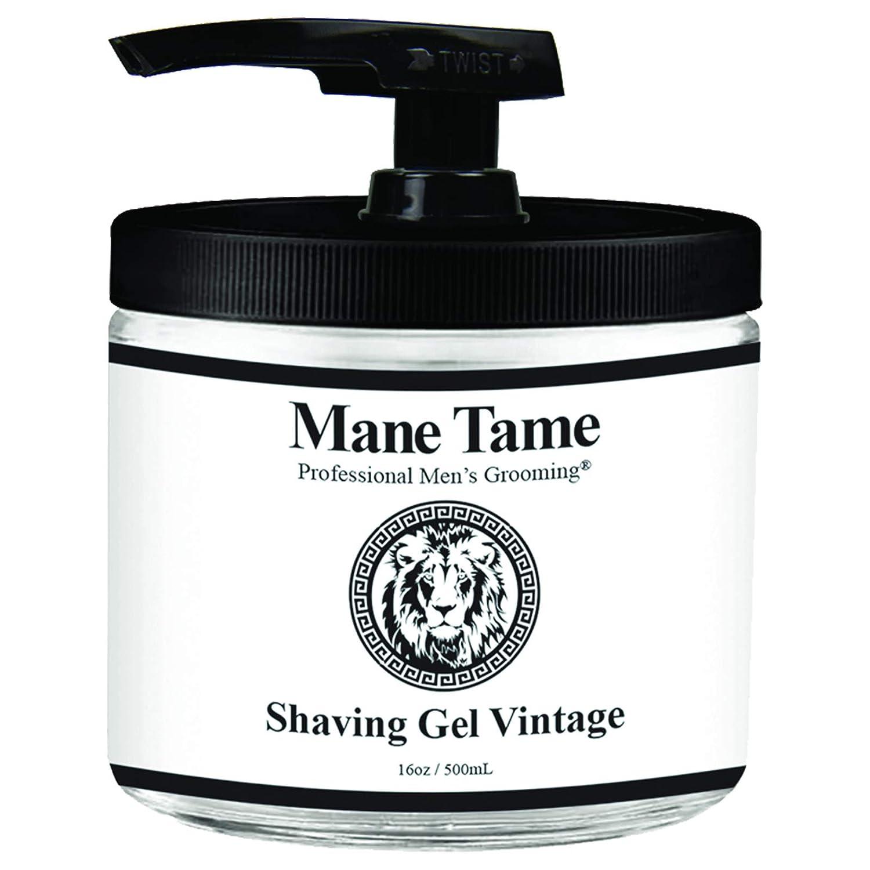 List price Mane Tame Professional 5 ☆ popular Men's Grooming Vintage Colle Gel Shaving