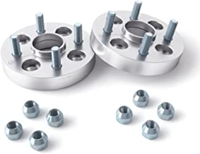 2pcs 25mm (1 inch) Hubcentric 4x114.3 Wheel Spacers (66.1mm bore, 12x1.25 Studs) For 4-Lug Nissan 200sx 240sx 240z 260z 280z 280zx 300zx Altima Maxima Sentra Cube (4x4.5)