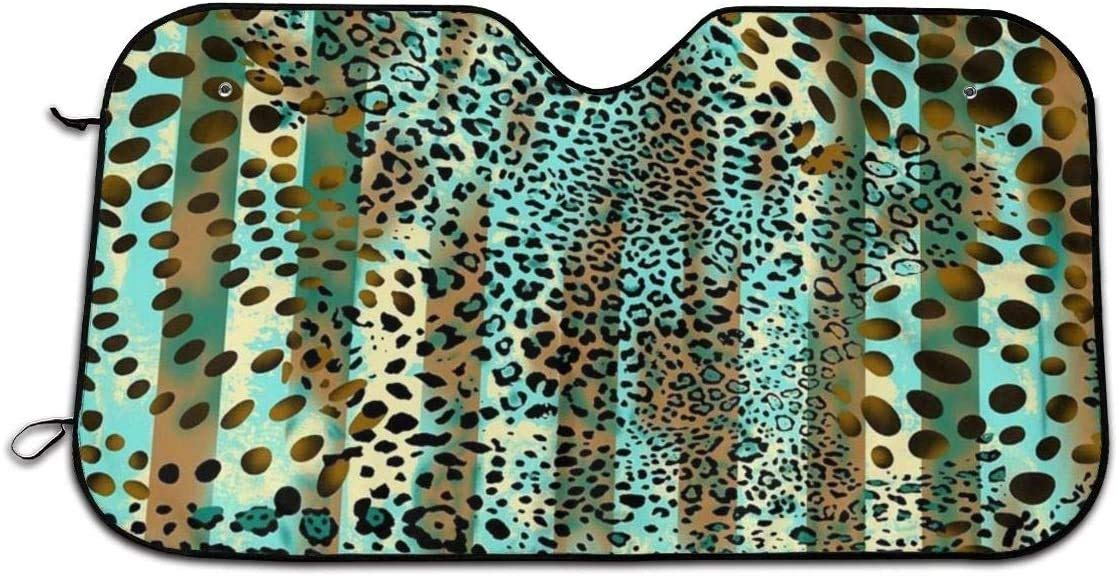Animal Prints Windshield Foldable Car 2021 spring and summer new Shade Sun Keep Clearance SALE! Limited time! Your Vehicl