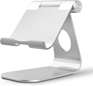 OMOTON Adjustable Tablet Stand Compatible with iPad, Tablets (Up to 12.9 inch) and All..
