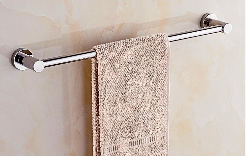 barato Toallero de acero inoxidable inoxidable inoxidable 304, toallero individual, accesorios para bao (Tamaño  70cm)  salida