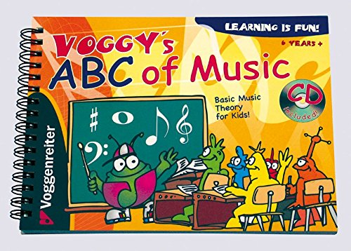 Voggy's ABC of Music: Basic Music Theory for Kids!