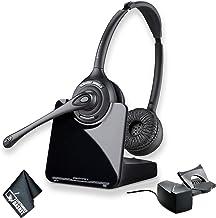 $259 » Plantronics CS520 Wireless Headset System Bundle and HL10 Handset Lifter