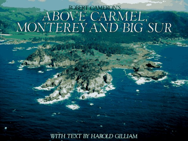 Above Carmel, Monterey and the Big Sur