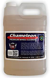 Detail King Chameleon Car Rim & Wheel Cleaner Spray for All Wheels (Aluminum, Chrome, and More) Scrub-Less, pH Balanced, Acid Free - 1 Gallon