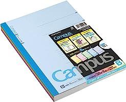 KOKUYO 国誉 校园笔记本 5本装 5色混色 B5 B格 30张 NO-3CBN×5