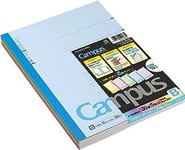"Kokuyo Campus Notebook Semi B5(""9.8×""7)- 6 mm - 35 Lines X 30 Sheets - Pack of 5"