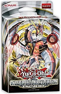Yu-Gi-Oh! 83717841845 Structure Deck Cyber Dragon Revolution, Multicolor