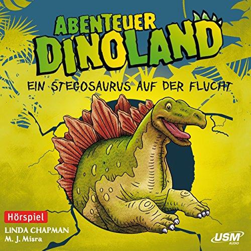 Ein Stegosaurus auf der Flucht cover art