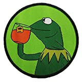 Gudeke Kermit None My Business Frog Sipping...
