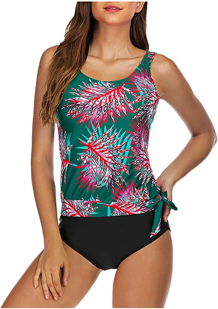 ZSNB 2021 Fashion Floral Printed Ranking TOP20 for Women Tropical In a popularity Set Swimsuit