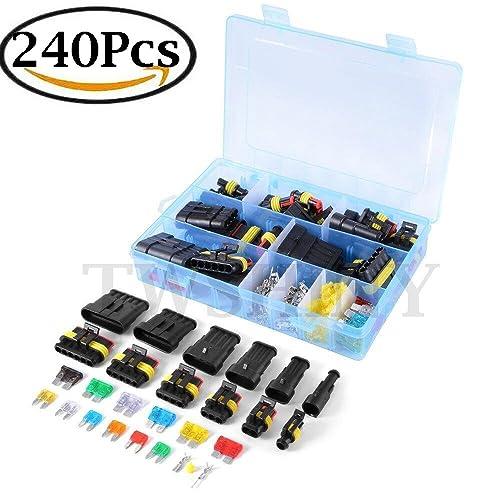 Awe Inspiring Electrical Car Connectors Amazon Co Uk Wiring 101 Orsalhahutechinfo