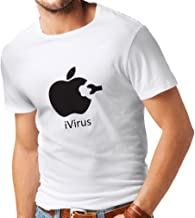 lepni.me T Shirts for Men iVirus - Best Funny Cool Gadget Fan Gifts