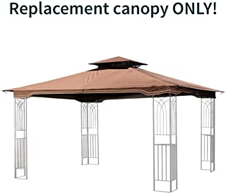 Sunjoy Replacement Gazebo Canopy for 10 x 12 Regency II Patio Gazebo