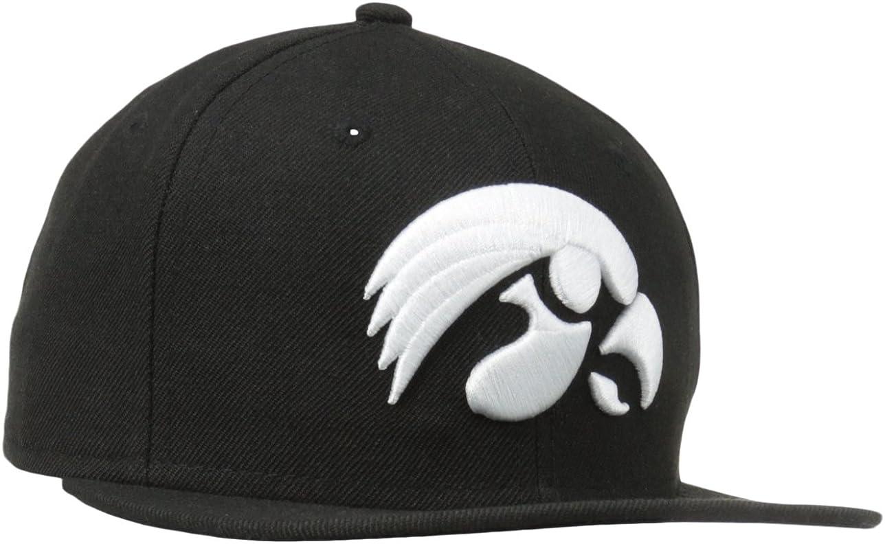 NCAA Iowa Hawkeyes 5950 Black And White