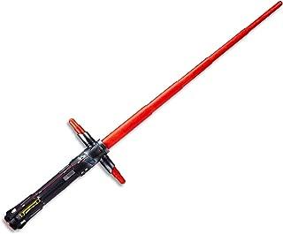STAR WARS - Kylo Ren Force Action Lightsaber - Lights & Sounds - Kids Dress Up Toys - Ages 4+