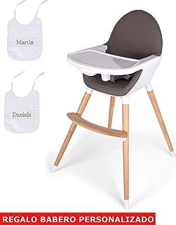 mibebestore - Trona de bebés 2 en 1, convertible en sillita