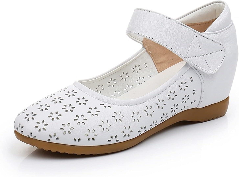Vielab Nurse Nursing Shoes for Women Round Toe Light Weight Flat Luxury Classic